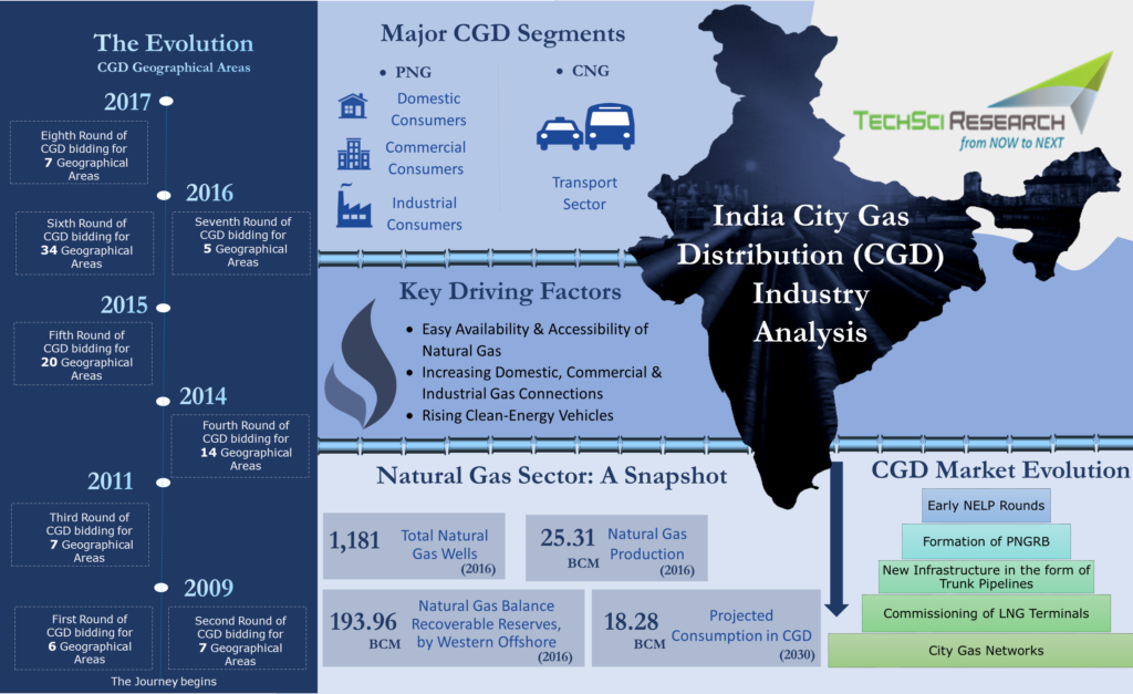 India city gas distribution market