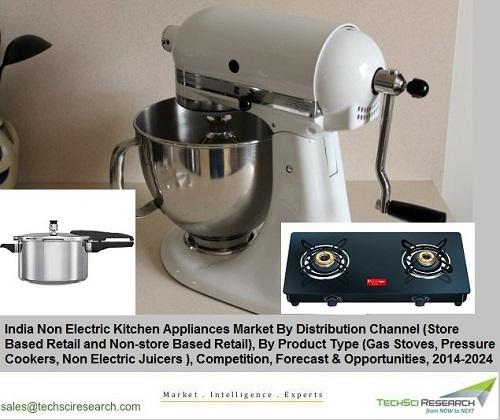 India Non Electric Kitchen Appliances Market 2024 Research Report