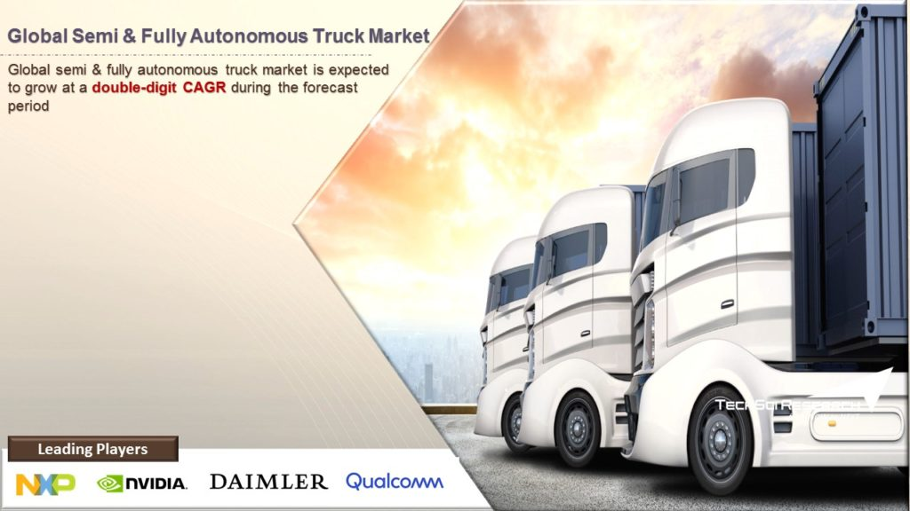 Global Semi & Fully Autonomous Truck Market